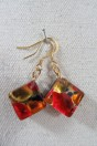 Mignon red and gold with necklace