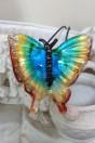 Pendentif papillon multicolor