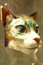 Masque casque chat