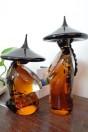 Couple de Mandarin ambré petit modèle