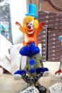 Clown classique accordéon