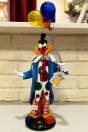 Clown de cirque avec ballons, grand modèle