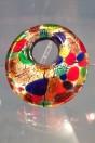 Tondo multicolor en verre de Murano
